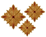 Hand-embroidered crosses - D125