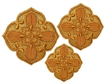 Hand-embroidered crosses - D129