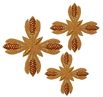 Hand-embroidered crosses - D130