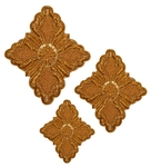 Hand-embroidered crosses - D133