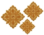 Hand-embroidered crosses - D138