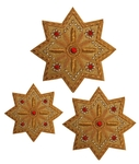 Hand-embroidered crosses - D142