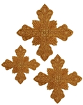 Hand-embroidered crosses - D146