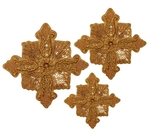 Hand-embroidered crosses - D149