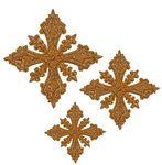 Hand-embroidered crosses - D152