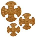 Hand-embroidered crosses - D153