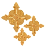 Hand-embroidered crosses - D171