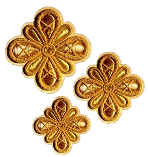 Hand-embroidered crosses - D190