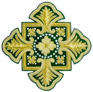 Hand-embroidered crosses - I-003