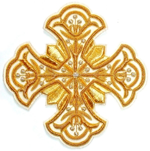 Hand-embroidered crosses - I-028
