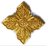 Hand-embroidered crosses - I-038
