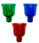 Church votive glass: Votive glass no.9H