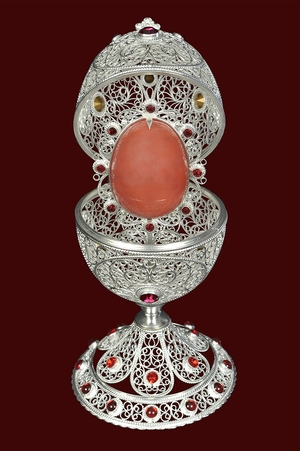 Filigree Paschal egg no.3