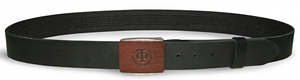 Leather belt with prayers no.T5pr