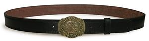 Orthodox leather belt - Labarum