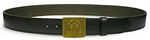 Orthodox leather belt - Agion Oros