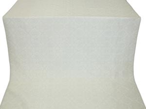 Yaroslavl metallic brocade (white/silver)