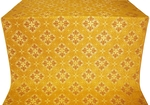 Kostroma silk (rayon brocade) (yellow/gold)