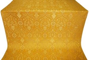Prestol silk (rayon brocade) (yellow/gold)