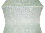 Prestol silk (rayon brocade) (white/silver)