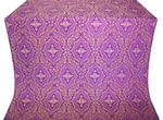 Don silk (rayon brocade) (violet/gold)