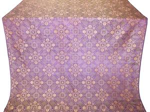 Pskov silk (rayon brocade) (violet/gold)