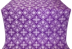 Pskov silk (rayon brocade) (violet/silver)