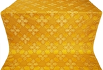 Podolsk silk (rayon brocade) (yellow/gold)