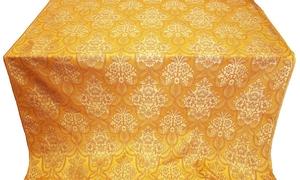 Pavlov Bouquet metallic brocade (yellow/gold)