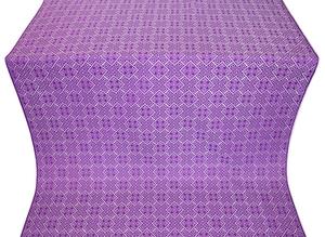 Stone Flower metallic brocade (violet/silver)