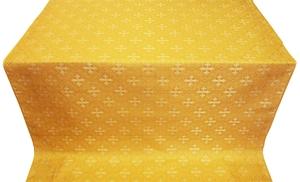 Stone Flower silk (rayon brocade) (yellow/gold)