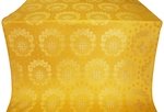 Nativity Star silk (rayon brocade) (yellow/gold)
