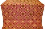 Alania metallic brocade (claret/gold)