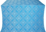 Alania silk (rayon brocade) (blue/silver)