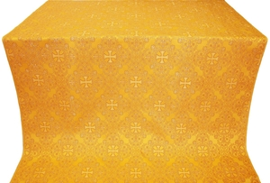 Alania silk (rayon brocade) (yellow/gold)