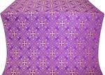 Alania silk (rayon brocade) (violet/gold)