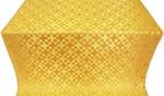 Novgorod Cross metallic brocade (yellow/gold)