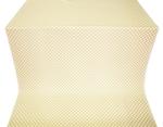 Sayany silk (rayon brocade) (white/gold)