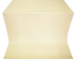 Sayany silk (rayon brocade) (white/gold)