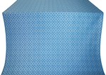 Elets silk (rayon brocade) (blue/silver)