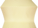 Omsk silk (rayon brocade) (white/gold)
