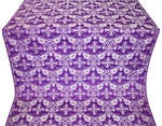 Koursk metallic brocade (violet/silver)