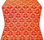 Koursk metallic brocade (red/gold)