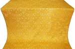 Koursk silk (rayon brocade) (yellow/gold)