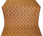 Kazan' silk (rayon brocade) (claret/gold)
