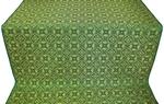 Vasiliya metallic brocade (green/gold)