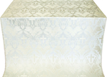 Greek Vine metallic brocade (white/silver)