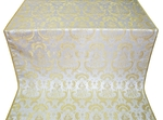 Samaria metallic brocade (white/gold)