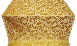 Greek Eagle metallic brocade (yellow/gold)