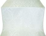 Vase metallic brocade (white/silver)